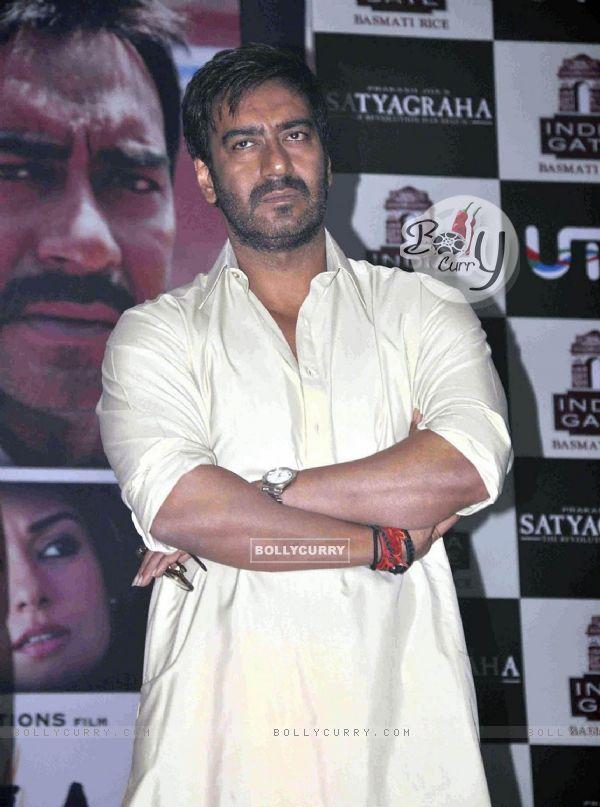 Ajay Devgan at Satyagraha movie promotion (293248)