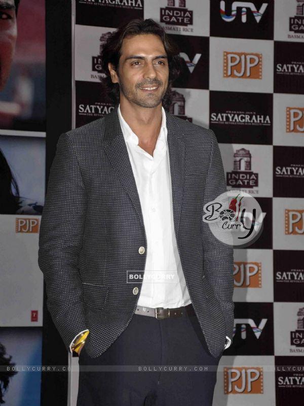 Arjun Rampal at Satyagraha movie team during the promotion (293256)
