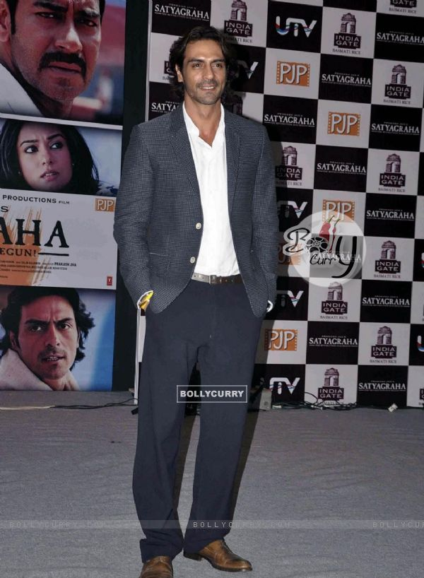 Arjun Rampal at Satyagraha movie team during the promotion (293266)