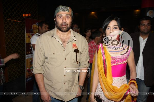 Sunny Deol and Amrita Rao at the First look of Singh Saab The Great