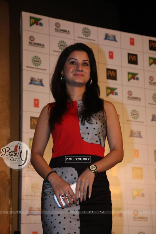 Anjali Abrol looked preety at the First look of Singh Saab The Great
