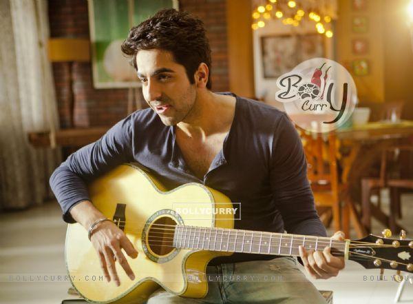 Ayushmann Khurrana from his music single 'O Heeriye'