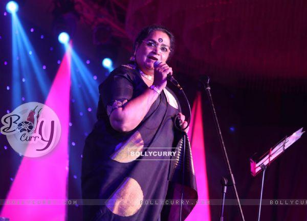 Usha Uthup performs at the Femina Style Diva Pune