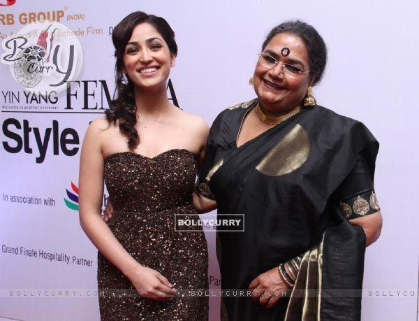 Yami Gautam and Usha Uthup at the Femina Style Diva Pune