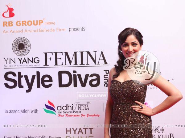 Yami Gautam at the Femina Style Diva Pune