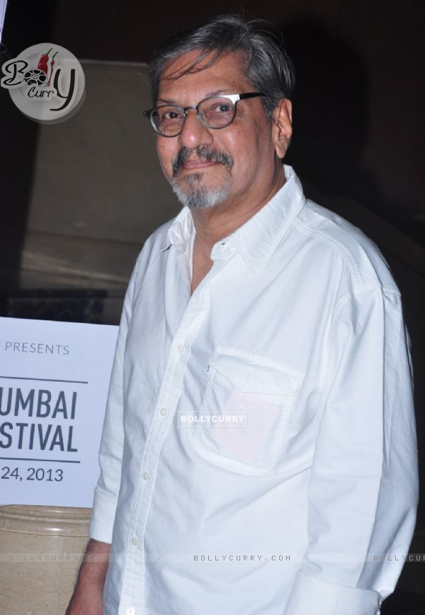 Amol Palekar at the Mumbai Film Festival