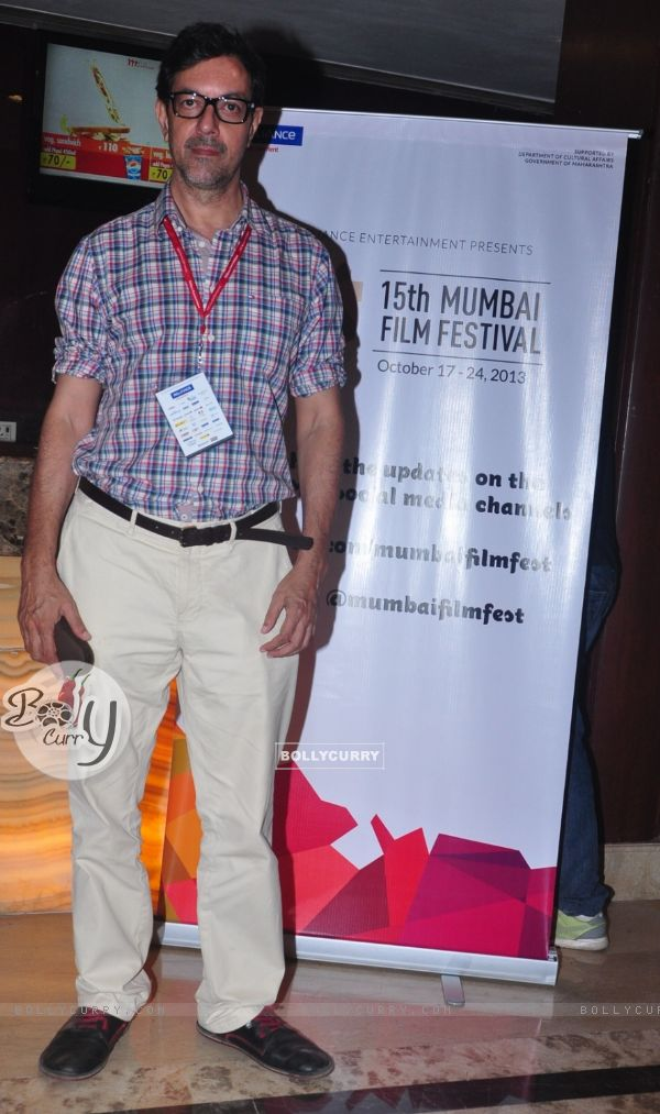 Rajat Kapoor at the Mumbai Film Festival