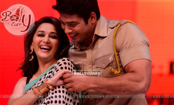 Siddharth with Madhuri