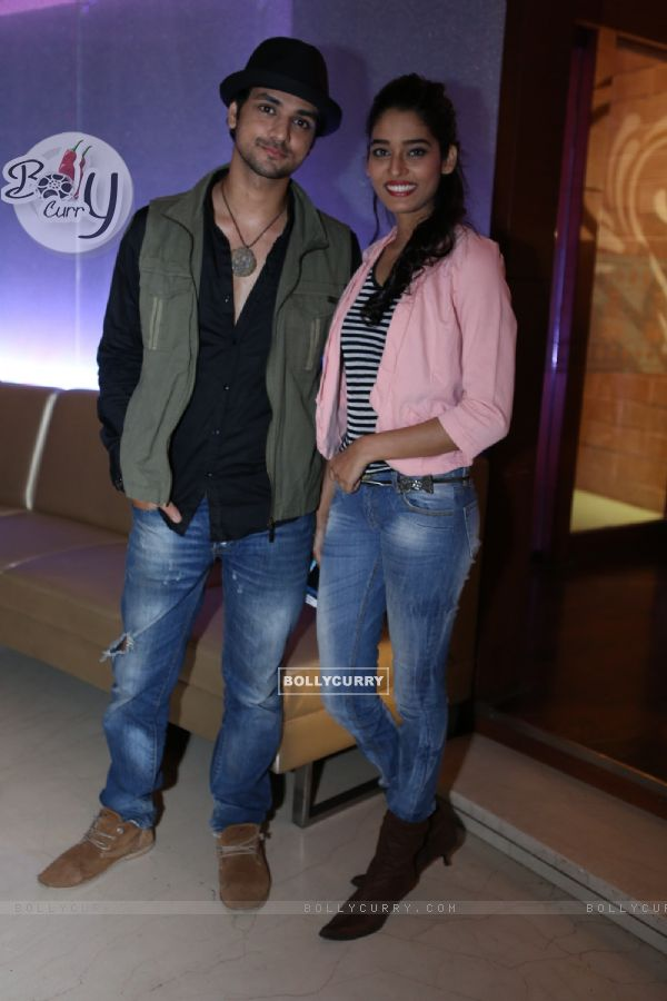 Shakti Arora and Neha Saxena at India-Forums.com 10th Anniversary Party
