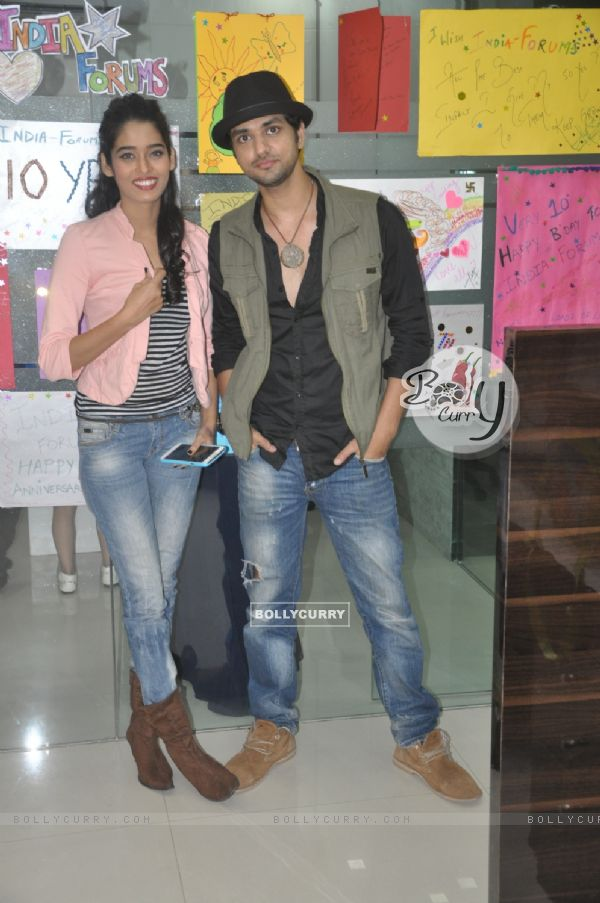 Celebs at the India-forums Office
