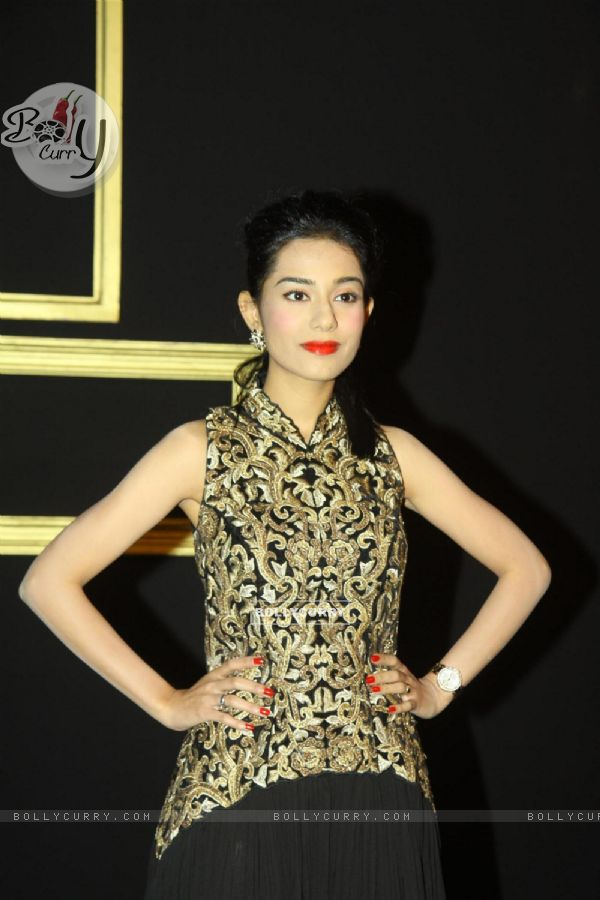 Amrita Rao was seen at Deepika Padukone's party