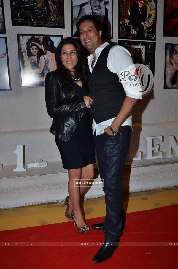 Sulaiman Merchant was at Dabboo Ratnani's 2014 Calendar launch