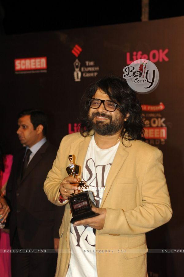 Pritam at the 20th Annual Life OK Screen Awards