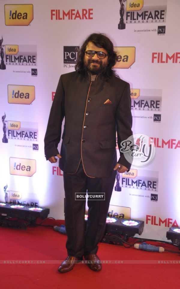 Pritam was at the 59th Idea Filmfare Awards 2013