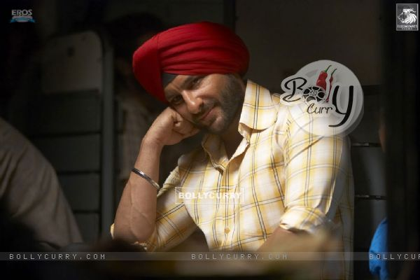 Saif Ali Khan thinking in Love Aaj Kal movie
