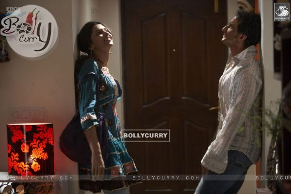 Saif and Deepika in Love Aaj Kal movie