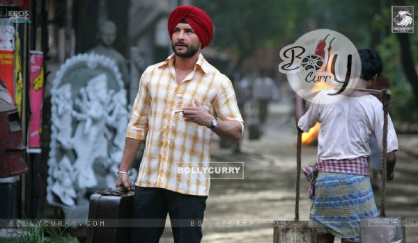 Saif Ali Khan looking like a Sardarji