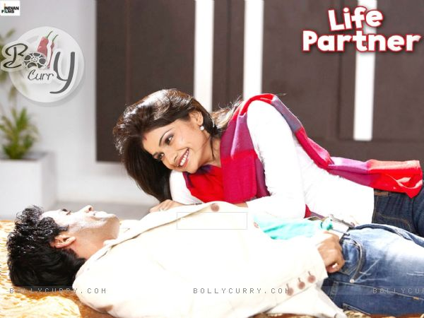 Wallpaper of Life Partner movie with Tusshar and Prachi