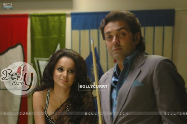 Bobby Deol with Kangna Ranaut