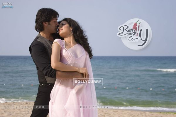 Bobby and Kangna romantic scene