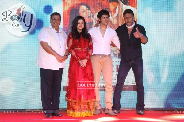 The team of 'Kaanchi'at the Music Launch