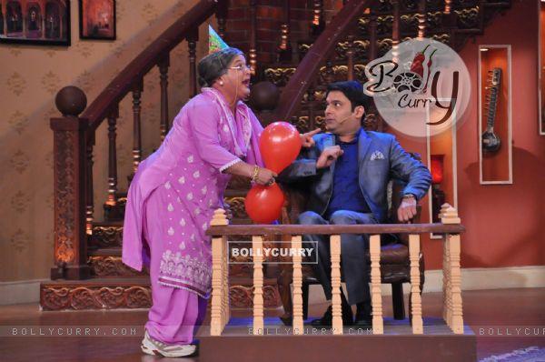 Dadi with Kapil Sharma on Comedy Nights With Kapil