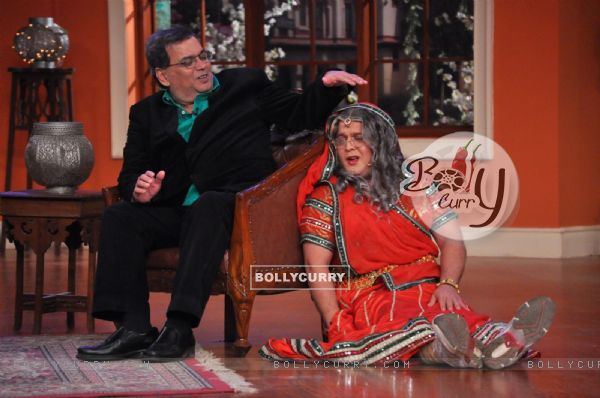 Subhash Ghai at Comedy Nights With Kapil