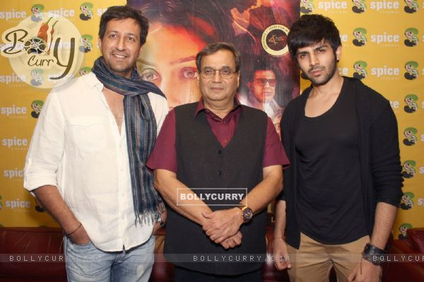 Press Conference to promote 'Kaanchi' in Noida (317441)