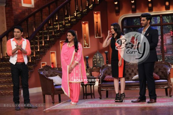 Promotions of 2 States on Comedy Nights With Kapil