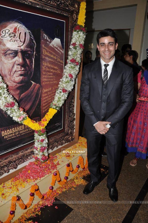 Gautam Rode at the Dada Sahib Phalke Awards