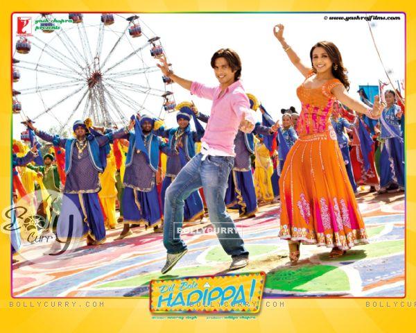 Dil Bole Hadippa movie wallpaper starring Shahid and Rani