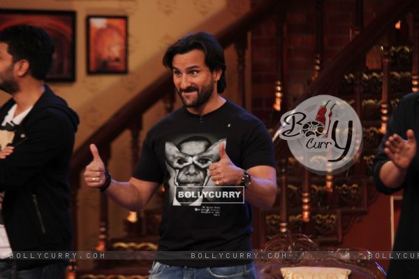 Saif Ali Khan on Comedy Nights with Kapil