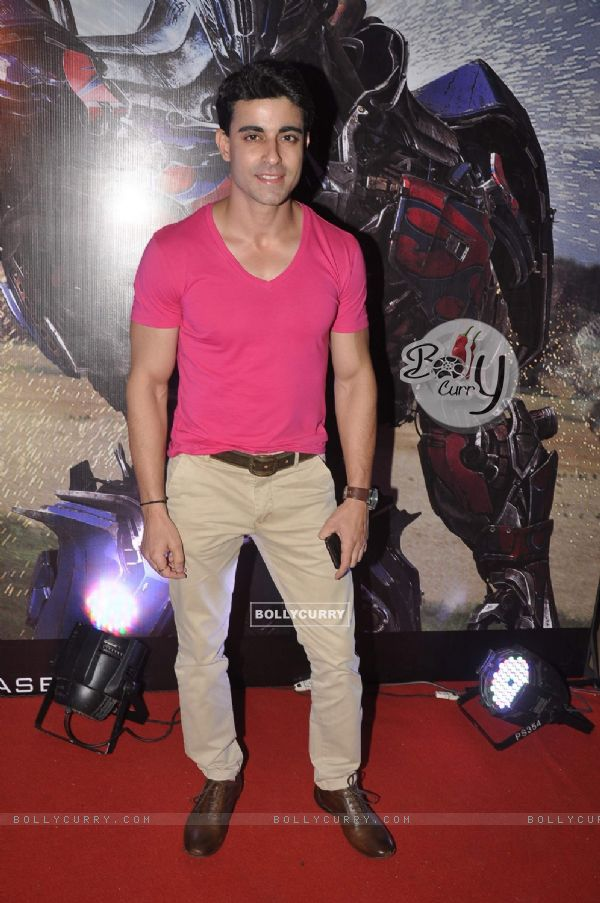 Gautam Rode at Transformers Age of Extinction Premiere
