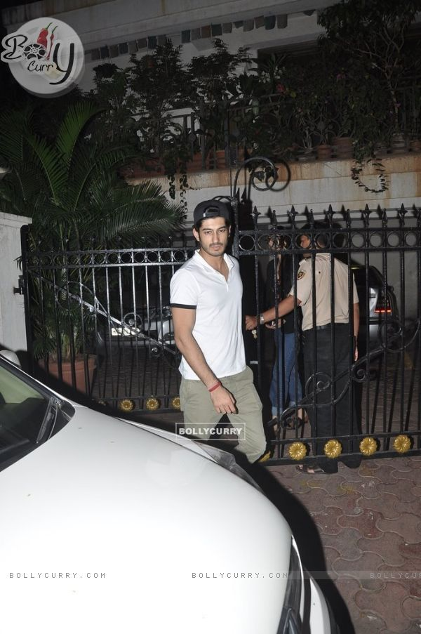 Mohit Marwah seen leaving from Arjun Kapoor's house