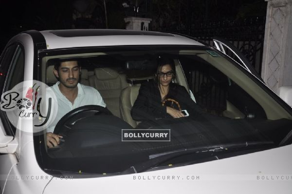 Mohit Marwah and Sonam Kapoor leave together from Arjun Kapoor's House