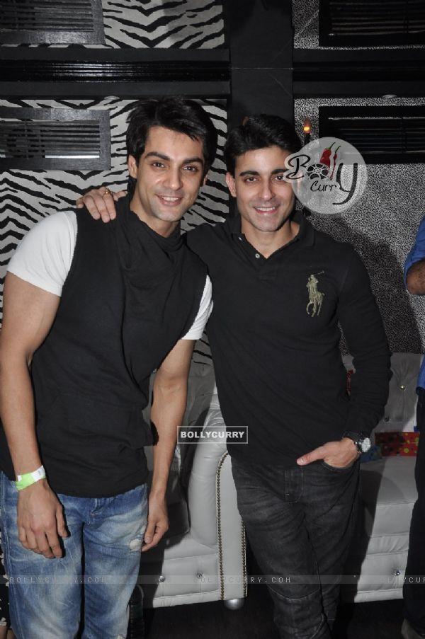 Karan Wahi and Gautam Rode were at Vivian Dsena's Birthday Party