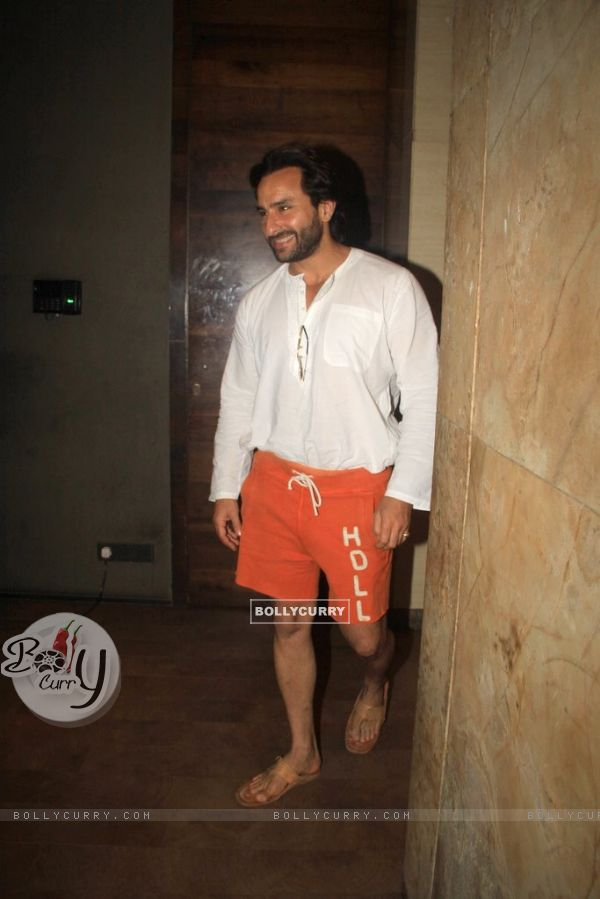 Saif Ali Khan at the Special Screening of Lekar Hum Deewana Dil