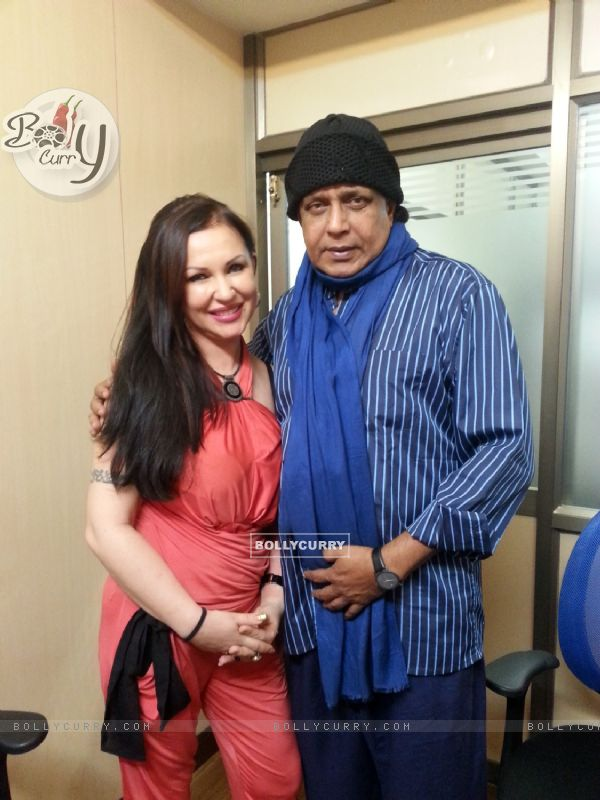 Exclusive Photos - Mithun Chakraborty nostalgic during his encounter with Ukrainian Supermodel Nataliya Kozhenova!