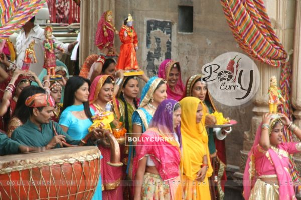 A still of Gangaur Pooja