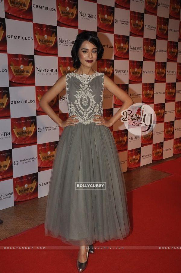 Amrita Rao was seen at the Retail Jeweller India Awards 2014