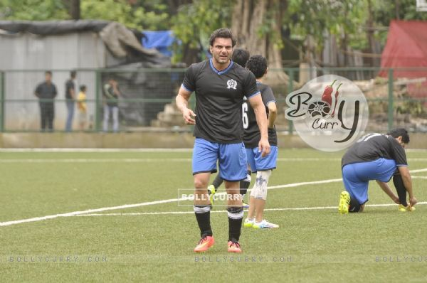 Sohail Khan at Charity Football Match