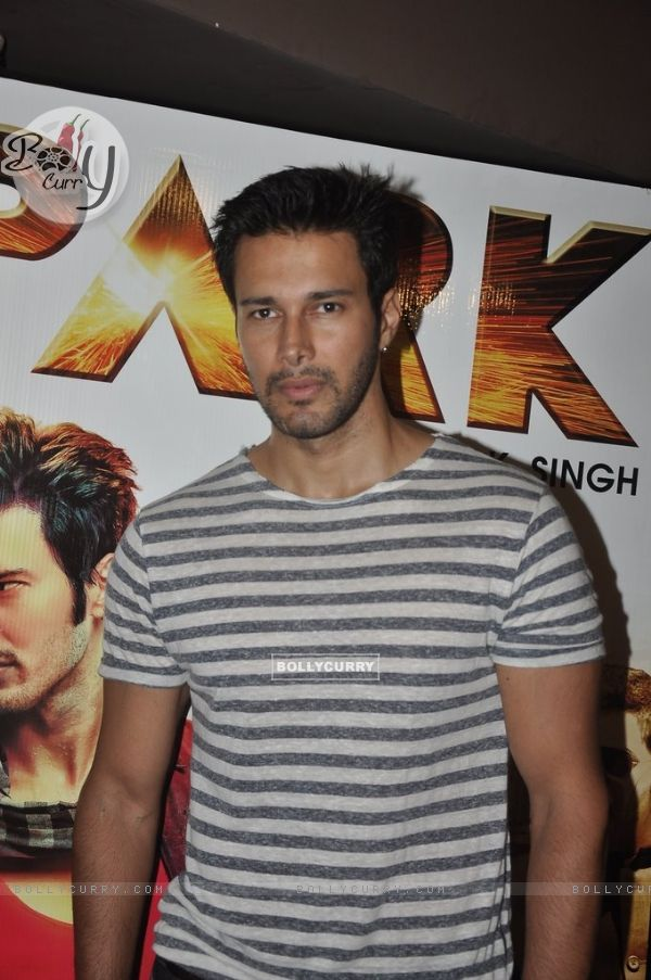 Rajneesh Duggal was at the Trailer Launch of Spark