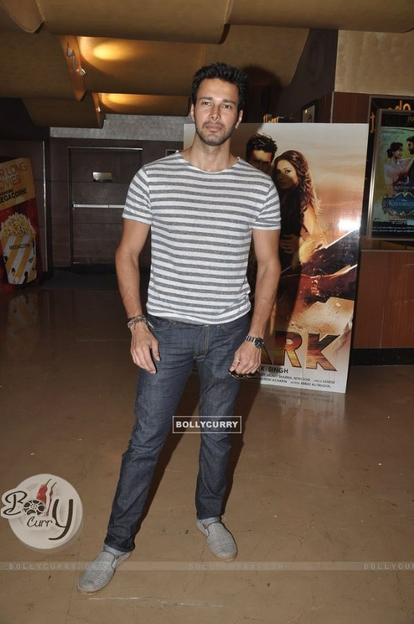 Rajneesh Duggal was spotted at the Trailer Launch of Spark