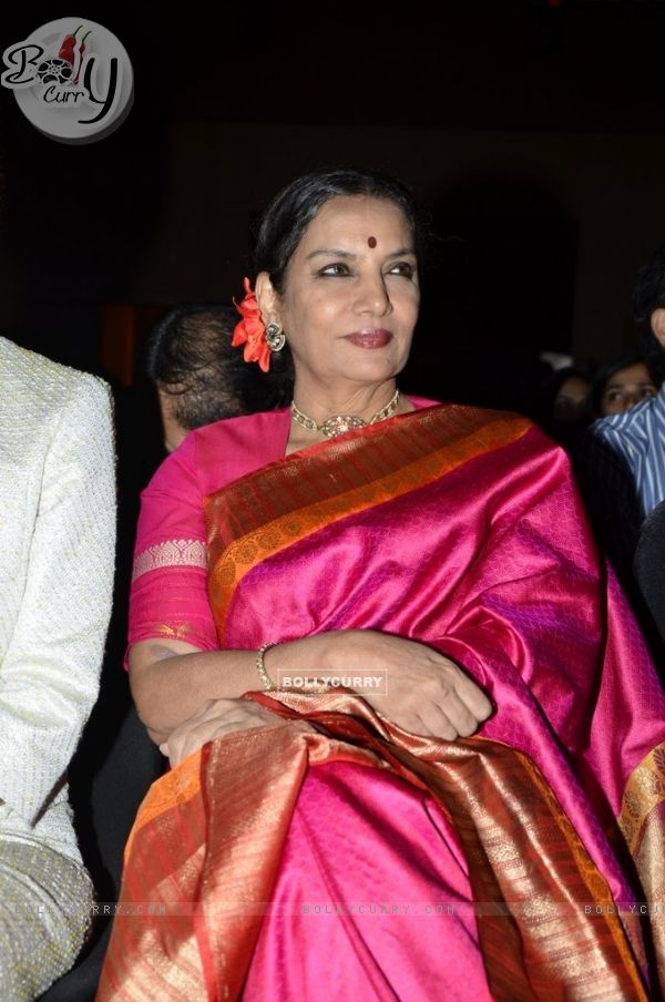 Shabana Azmi was spotted at Etihad Jet Collaboration Event