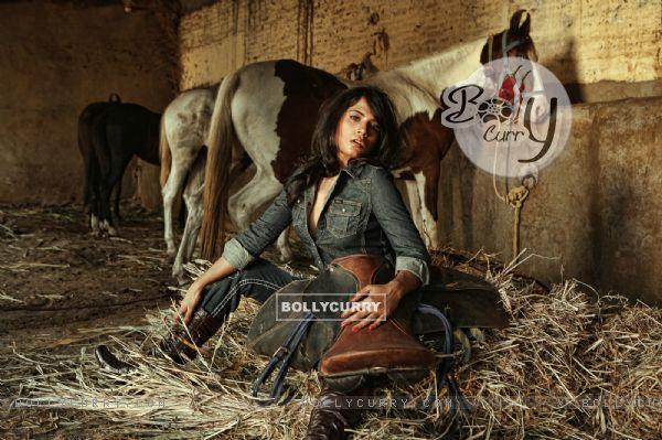 First Look of Richa Chadda in the movie Tamanchey