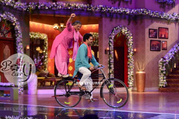 Dadi does a stunt on CNWK