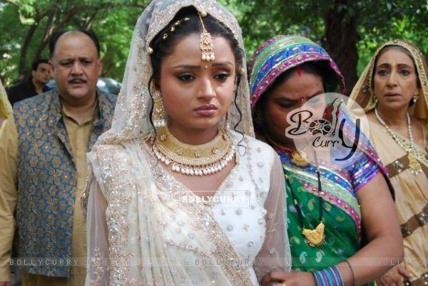 A still from the show Sapna Babul Ka.. Bidaai