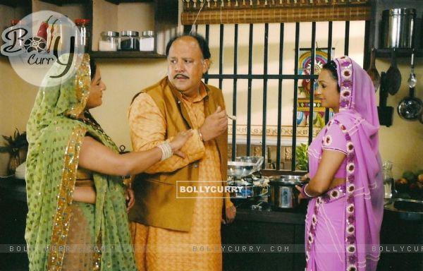 Mamaji, Mamiji and Malti in Sapna Babul Ka   Bidaai | Vibha Chibber