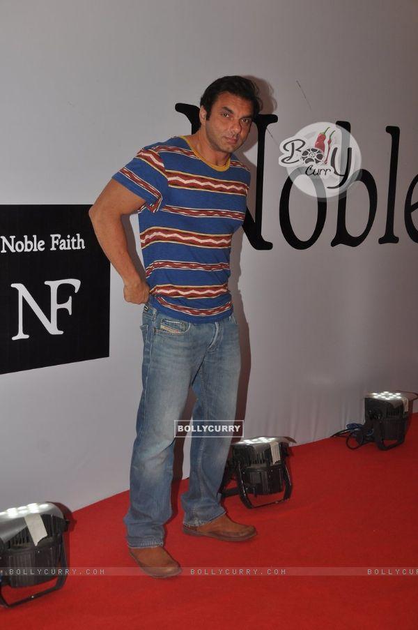 Sohail Khanposes for the media at the Birthday Bash cum Launch