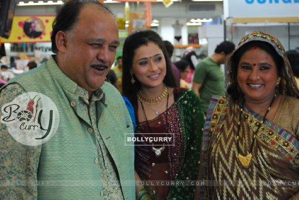 Sadhna with her Mamaji and Mamiji